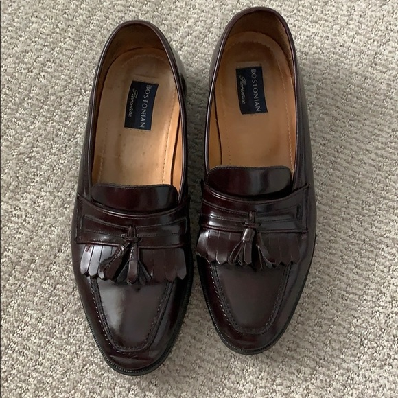 Bostonian brown leather men's shoes